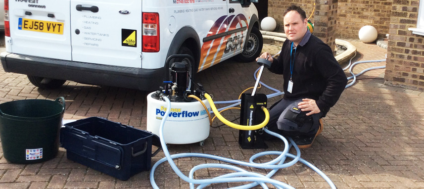 Does your existing central heating system need a power flush