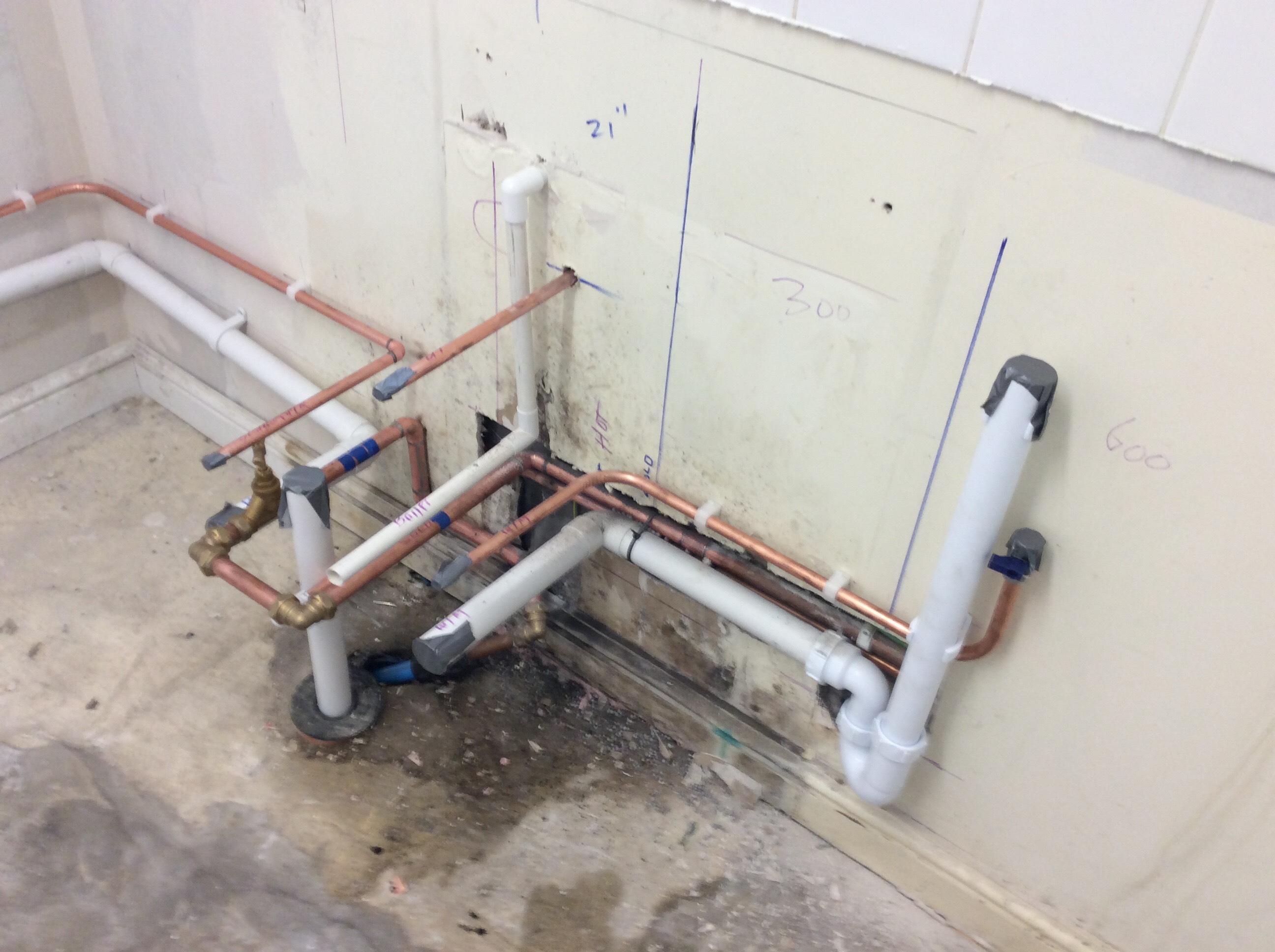 Plumbing For New Kitchen, Halton, Wendover
